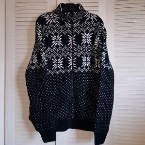 True Rock thick full-zip sweater | size XL